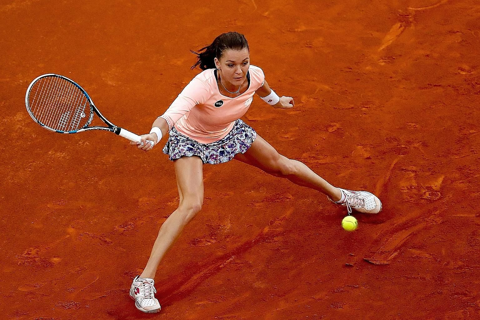 Agnieszka Radwanska says that clay is not her favourite surface, even though she grew up playing on it in Poland. The world No. 3, who lost in the first round of the French Open last year, is looking forward to making amends at Roland Garros this yea