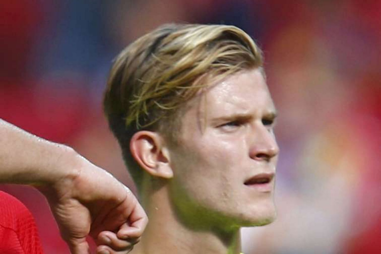 Goalkeeper Loris Karius, who arrives from Mainz, is aiming to dislodge Simon Mignolet.