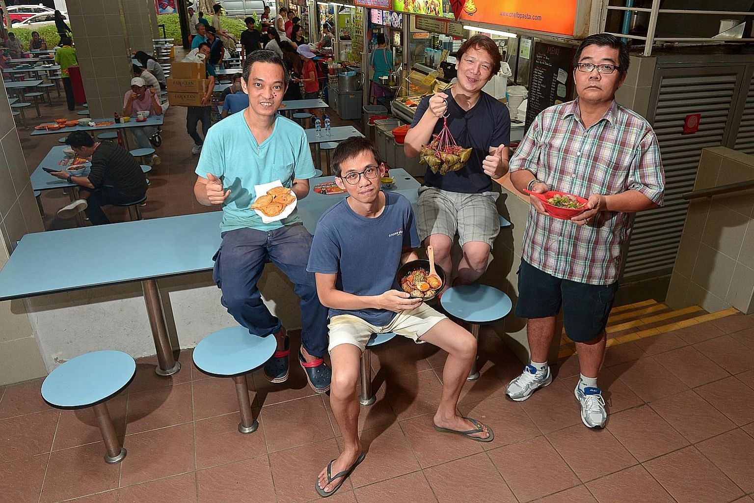 Four hawker stalls from Amoy Street Food Centre were given the Bib Gourmand rating in the inaugural Michelin Guide for Singapore, to be launched next Thursday. The rating rewards establishments offering high-quality meals for less than $45. The proud