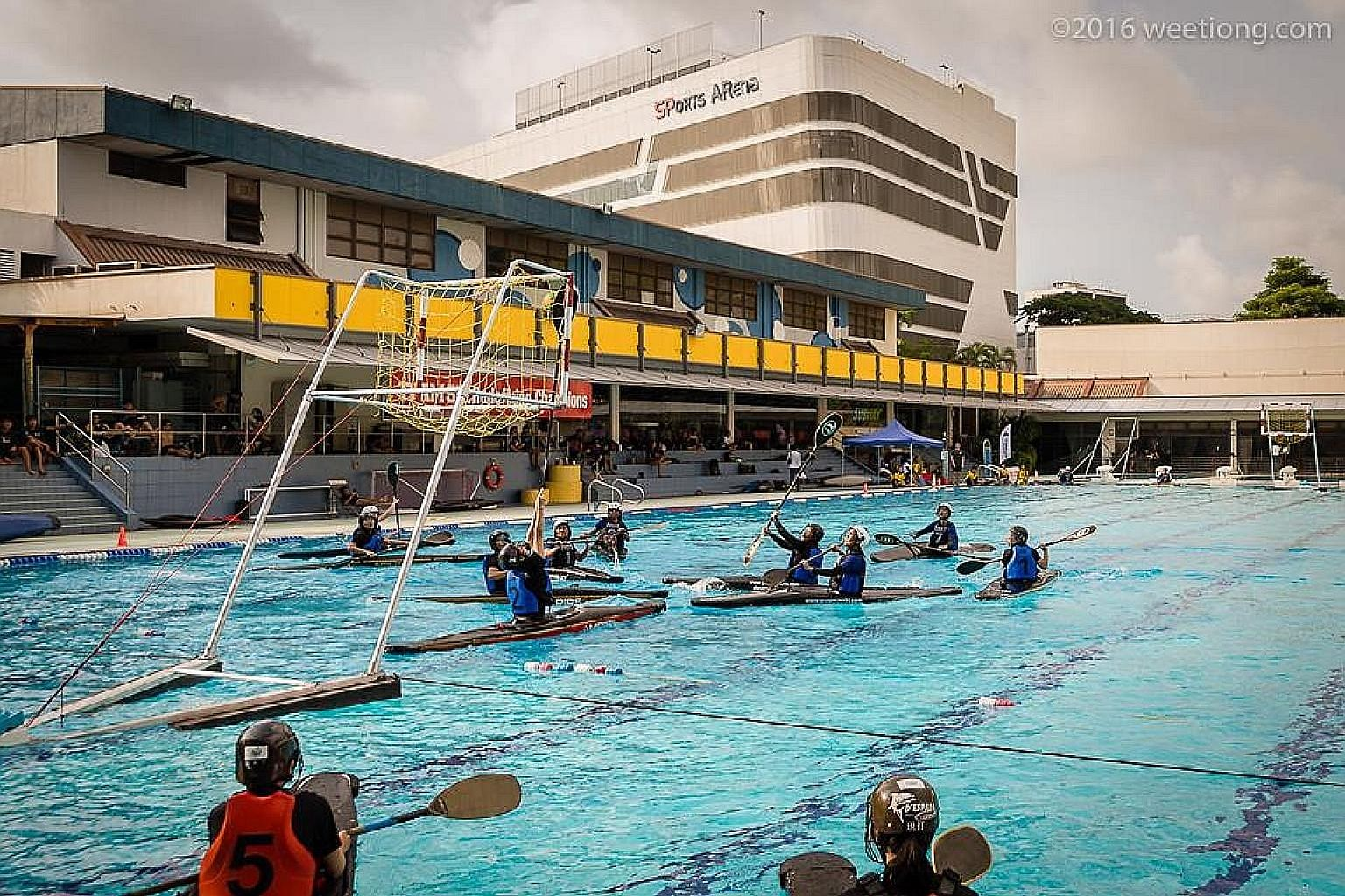 The National Canoe Polo Championships were part of the national women's team's preparations for the upcoming World Championships.