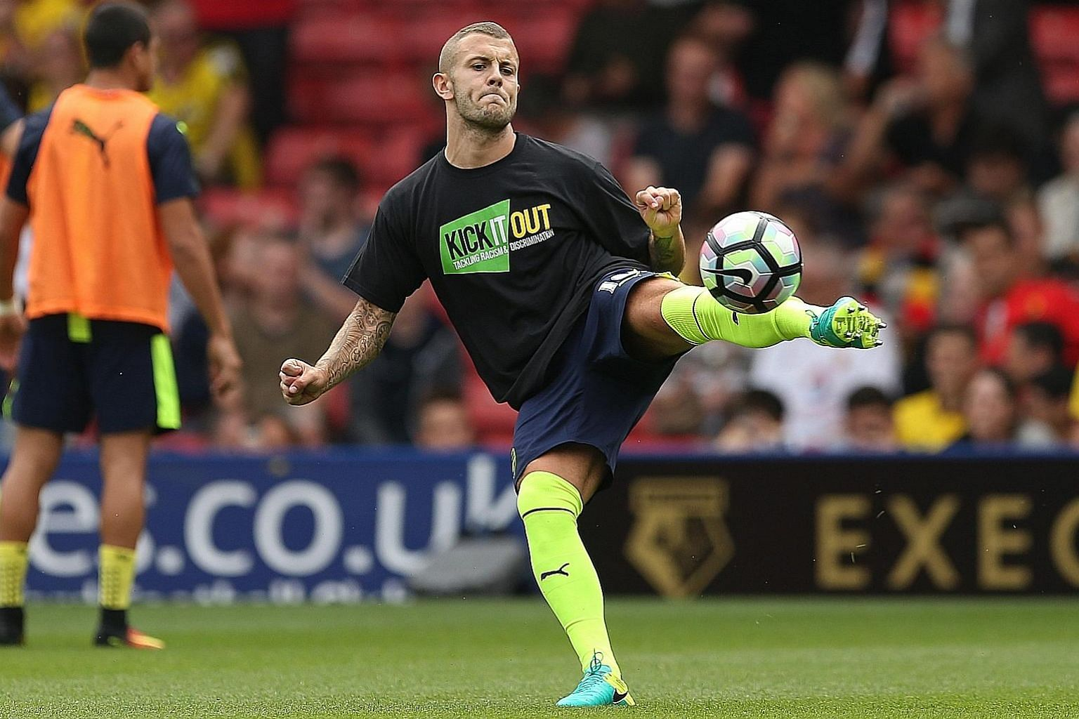 Arsenal manager Arsene Wenger believes that Jack Wilshere (left) can return to form by playing regular football elsewhere. England coach Sam Allardyce echoes his thoughts and wants to see more action from the player before he can be picked for the na