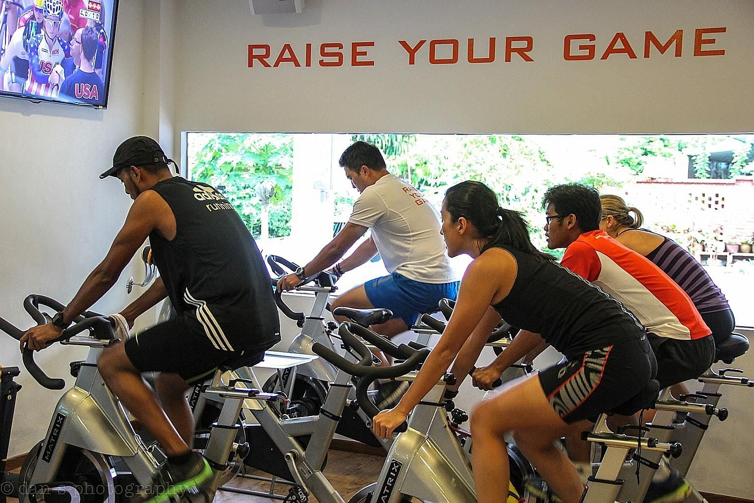 The environment at Altitude Gym can be adjusted to an altitude level of 2,500m to 3,500m.