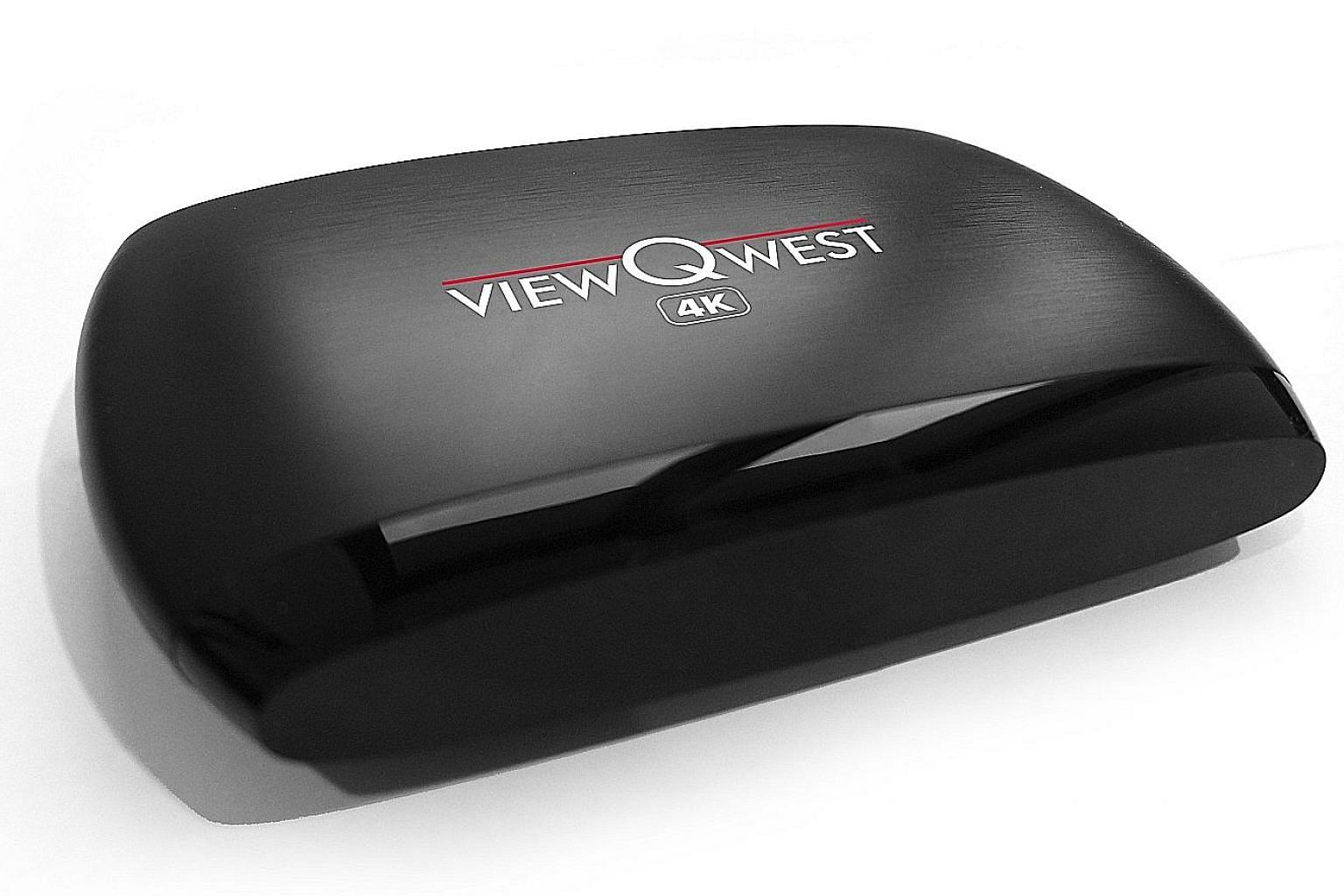 ViewQwest's 4K set-top box gives users access to movie streaming services of providers such as Netflix and Hulu.