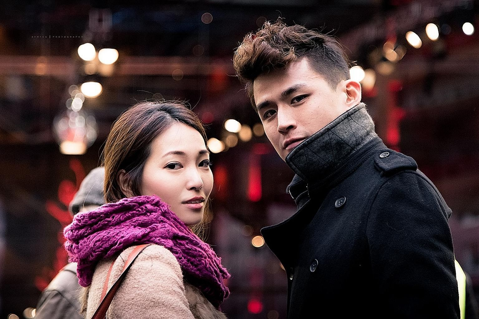 Chiobu Collective director Priscilla Ang Geck Geck and her boyfriend, branding strategist Kenneth Tan, 28, catch indie films and visit museums on weekends.
