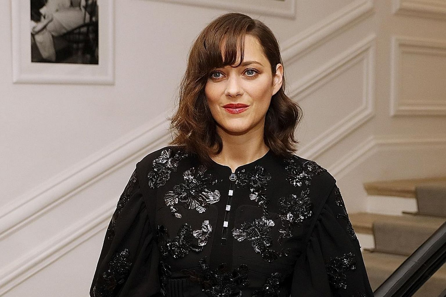 French actress Marion Cotillard, who stars in upcoming film Allied with Brad Pitt, says she is not involved in the split.