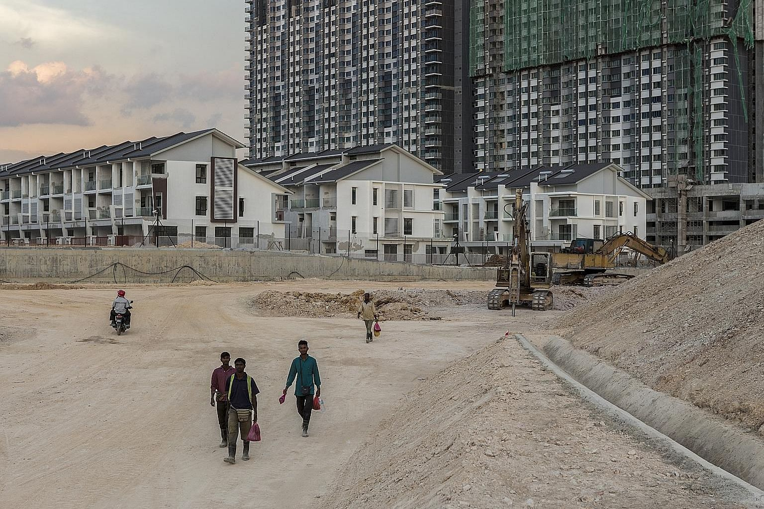 The Savanna Executive Suites complex under construction at Southville City in Selangor, Malaysia. Foreign ownership restrictions in emerging Asian markets are expected to be relaxed gradually in the coming years as those places seek to attract intern