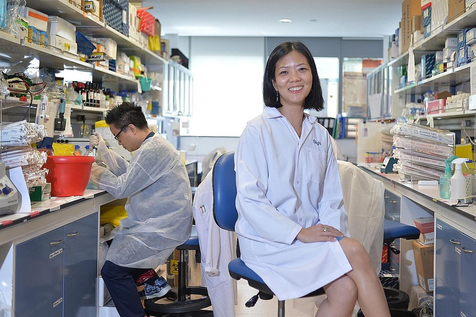 Dr Lisa Ng says with some pride that the work done by Singapore scientists in profiling chikungunya is probably unmatched, and used by researchers elsewhere as a benchmark.