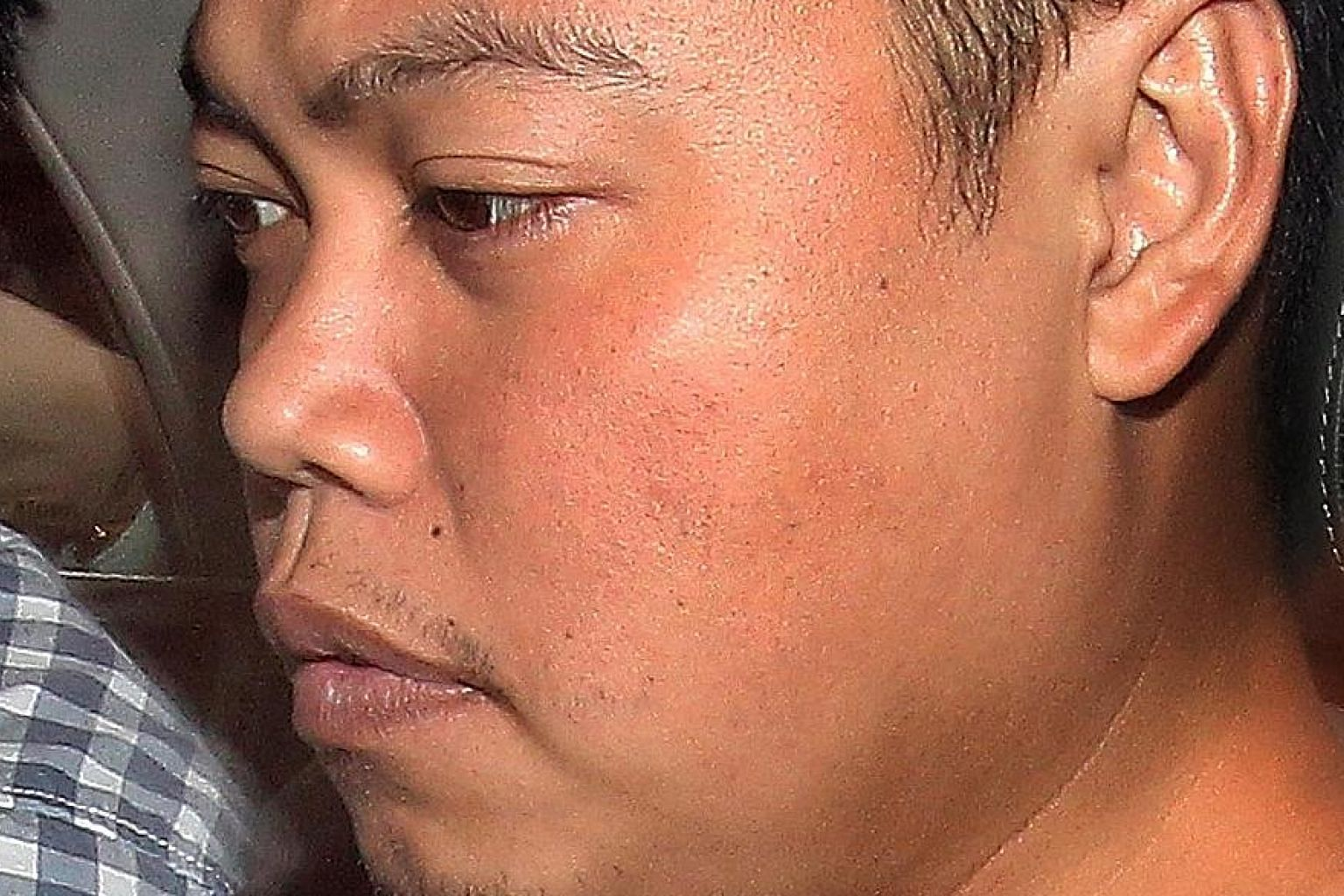 Iskandar, 37, was found guilty of killing car workshop owner Tan Boon Sin, 67, and his son Chee Heong, 42, at the older man's Hillside Drive house.