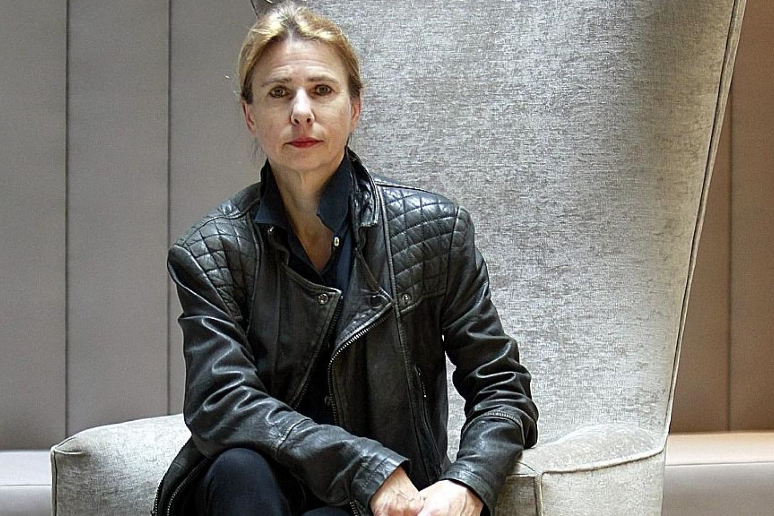 Besides holding a masterclass at the Singapore Writers Festival, author Lionel Shriver (above) will also speak on her latest book, The Mandibles: A Family, 2029-2047.