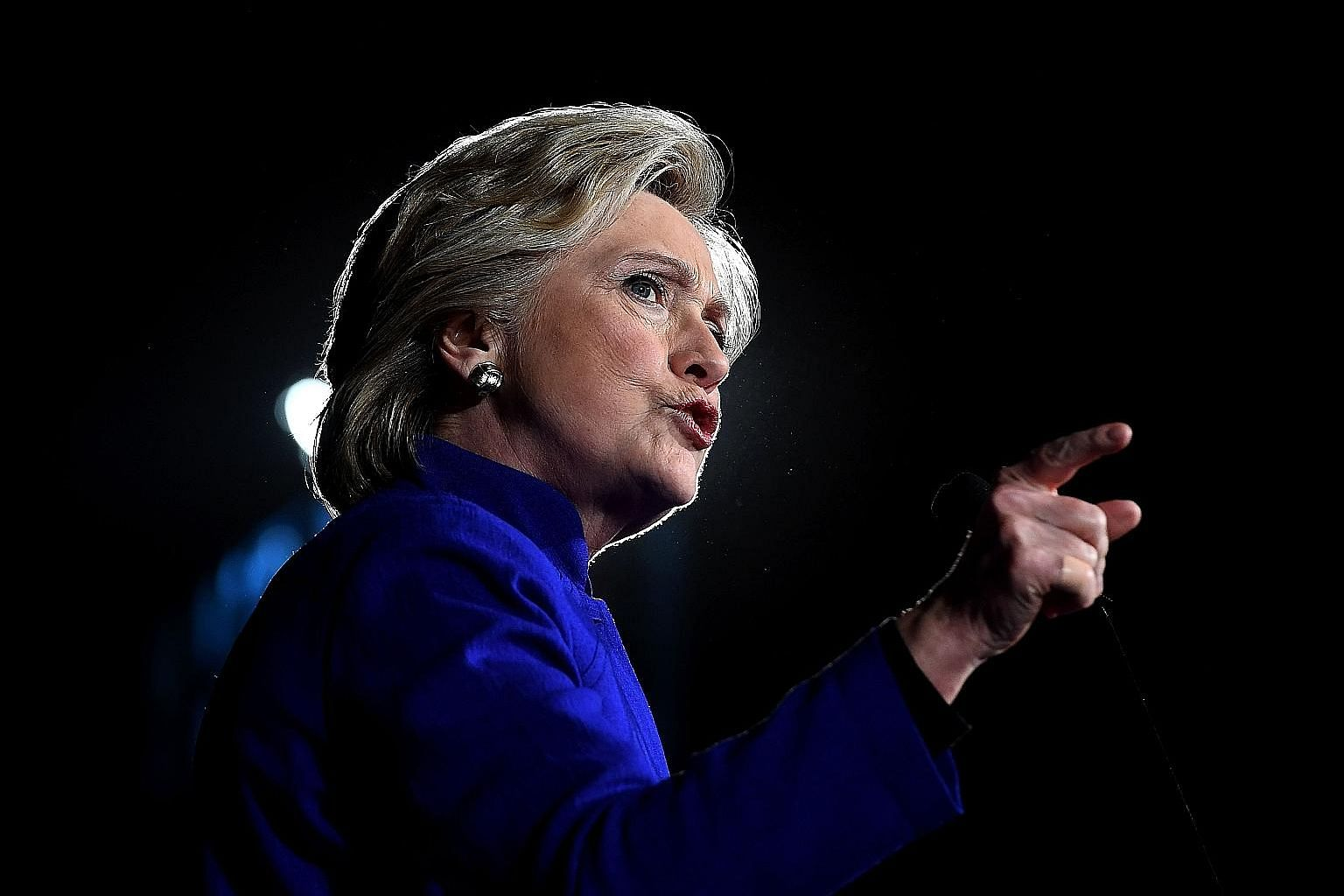 If Mrs Clinton wins the election but gets charged before Inauguration Day on Jan 20, most experts think she will likely step down and hand the presidency over to her vice-president, Mr Tim Kaine.