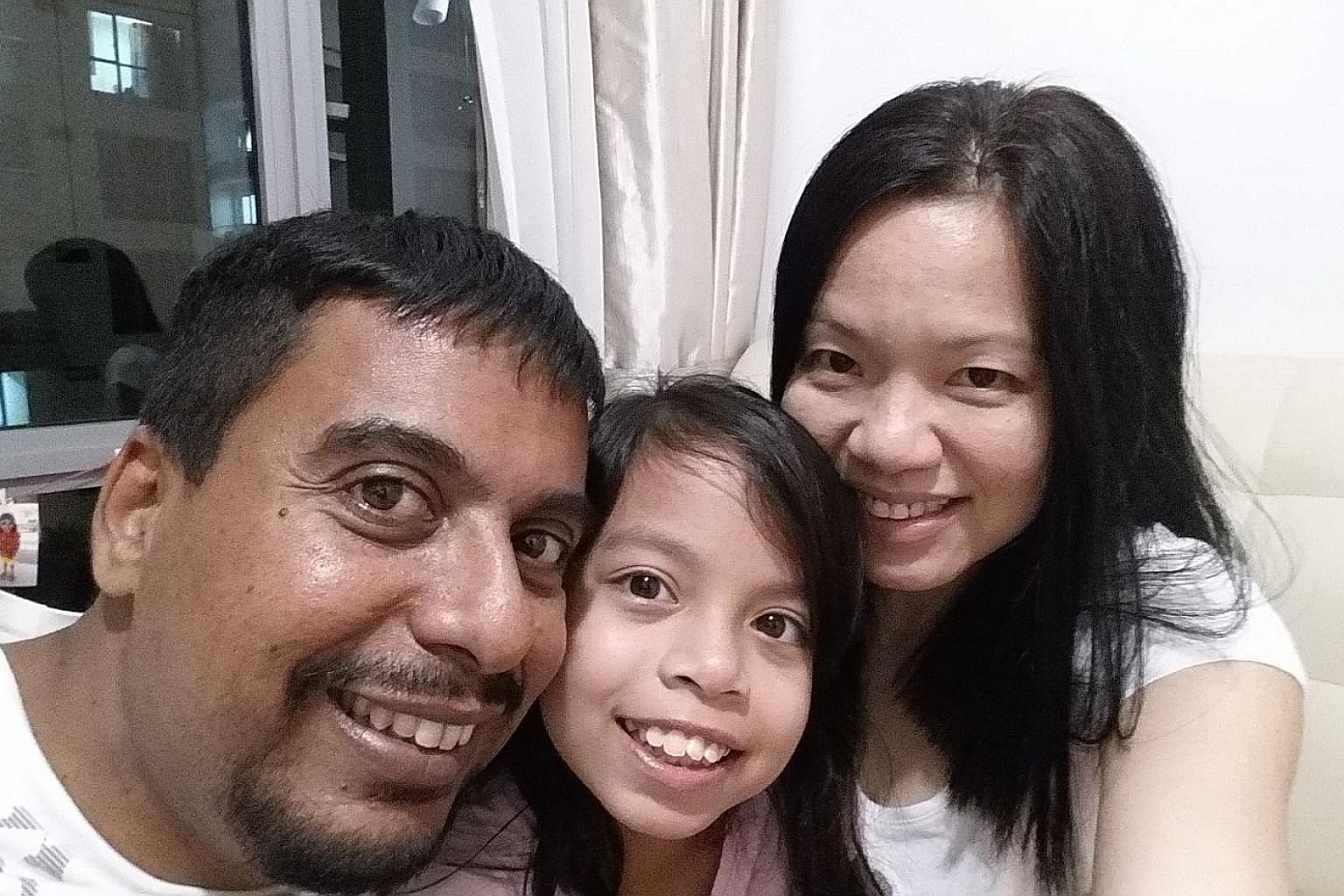 Ms Louis with her husband, Raphael, and daughter Nadia. She is passionate about helping people in their mental and emotion health, especially in the areas of marriage, parenting and friendship.