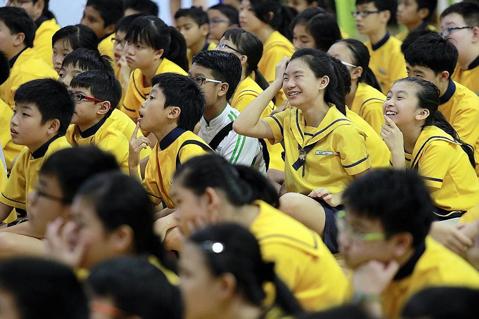 A child should be comfortable with the new school's academic standards. A good indication of whether a child can handle academic stress is how he coped in the PSLE.