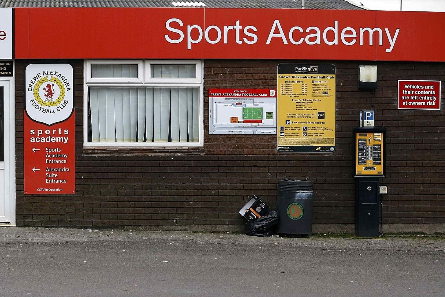 League Two side Crewe Alexandra's ground, one of the sites where Barry Bennell was alleged to have groomed his targets for child abuse. At least 20 former footballers have come out to relate their horrifying experiences.