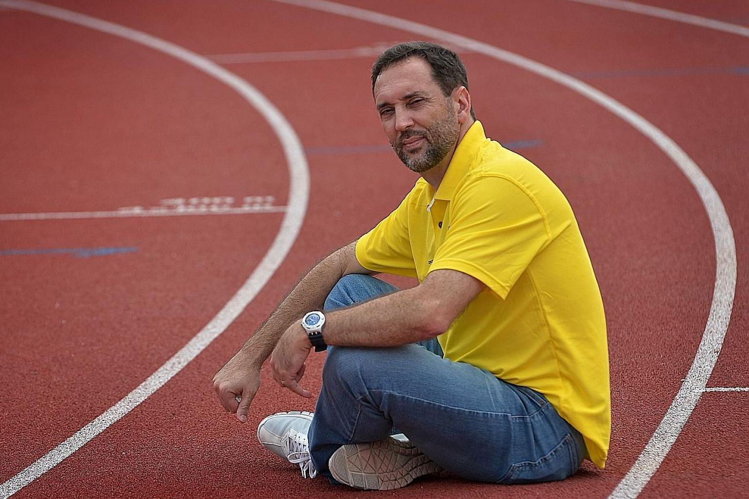 Former Portuguese sprinter Luis Cunha, 51, will be the new principal of the ActiveSG Athletics Club. But Singapore Athletics will not bar athletes who wish to continue training under him.