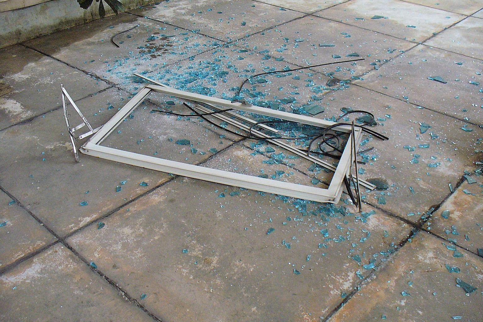 Most of the 41 cases of falling windows from January to November involved casement windows. The total figure is 11 more than that recorded in the same period last year.