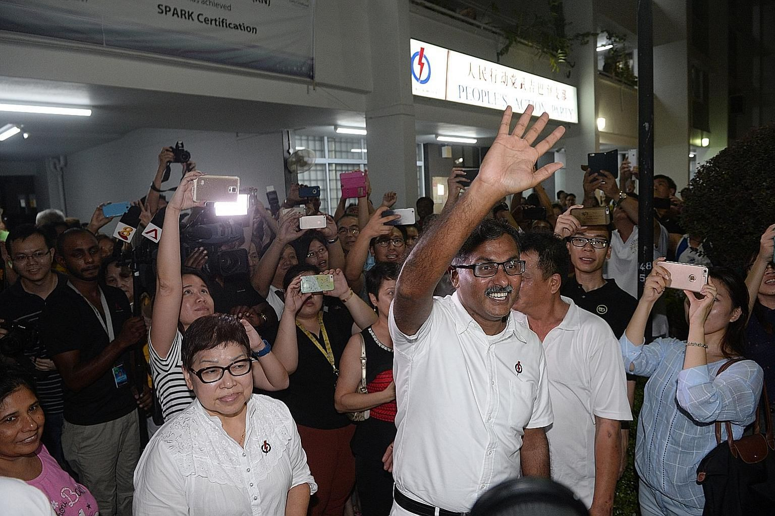 PAP newcomer Murali Pillai won 61.2 per cent of the vote against SDP chief Chee Soon Juan in the Bukit Batok by-election in May after Mr David Ong resigned over an alleged extramarital affair with a grassroots activist.