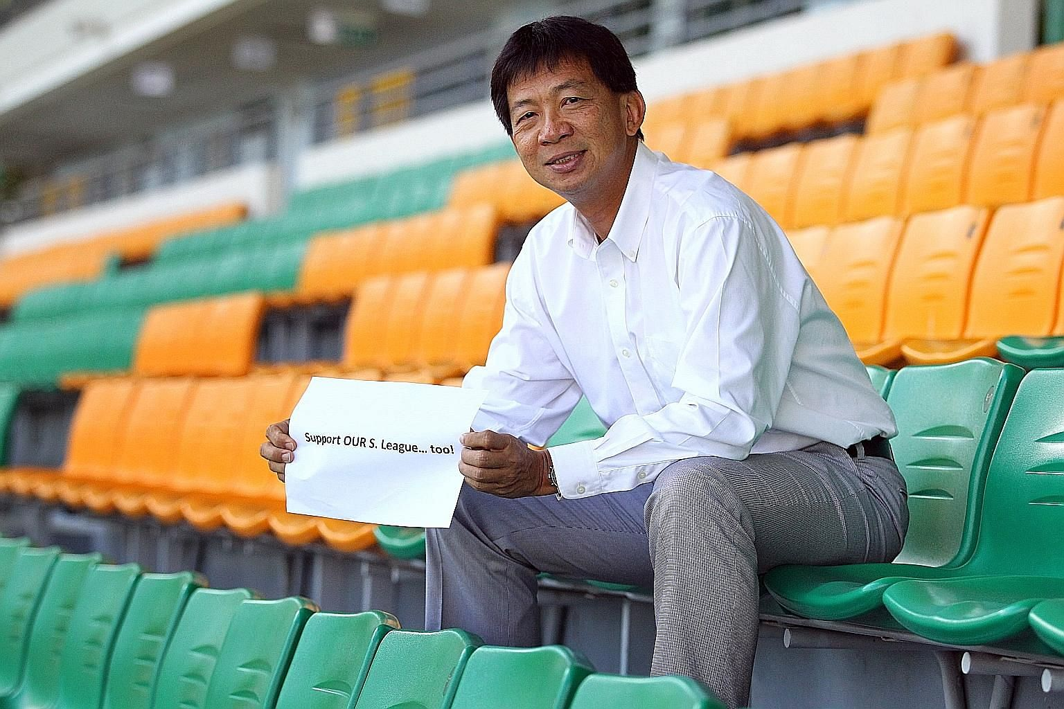 S-League CEO Lim Chin will leave the organisation at the end of March after five years and three months. As for operational matters, Kok Wai Leong, the S-League's director of operations, will hold the fort.