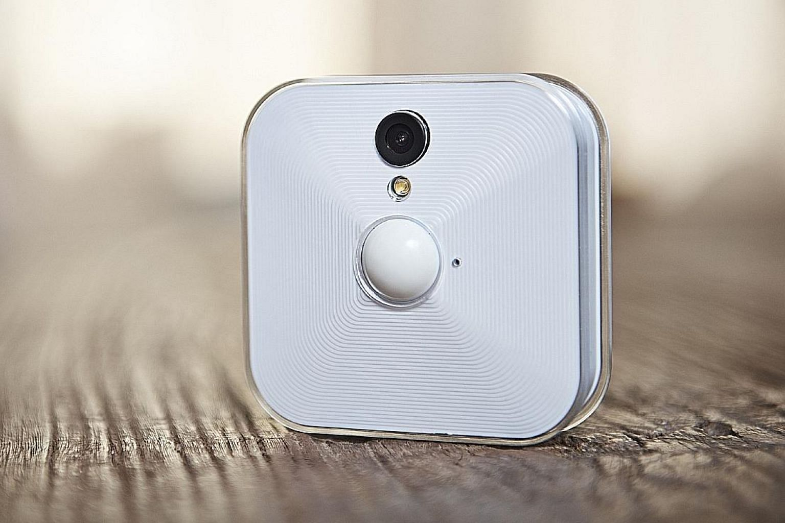 No wires needed as the Blink Home Security and HD Video Monitoring system uses two AA batteries.
