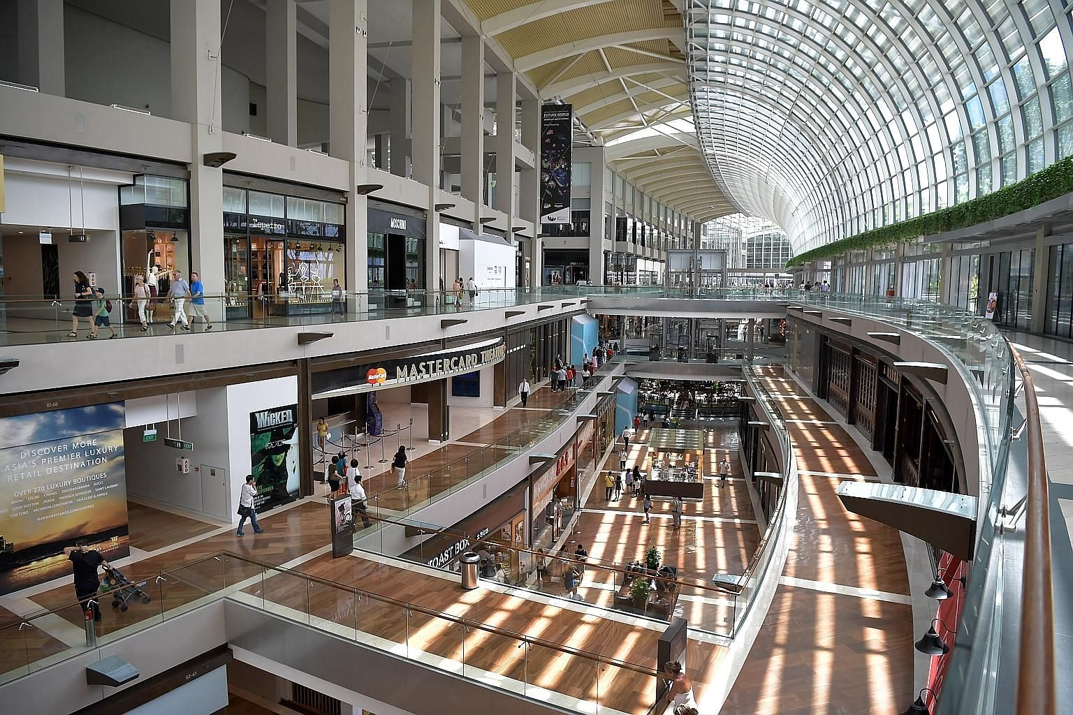 Proceeds from the sale of nearly half of Las Vegas Sands' stake in The Shoppes at Marina Bay Sands could be used in the company's next investment in Japan or South Korea.