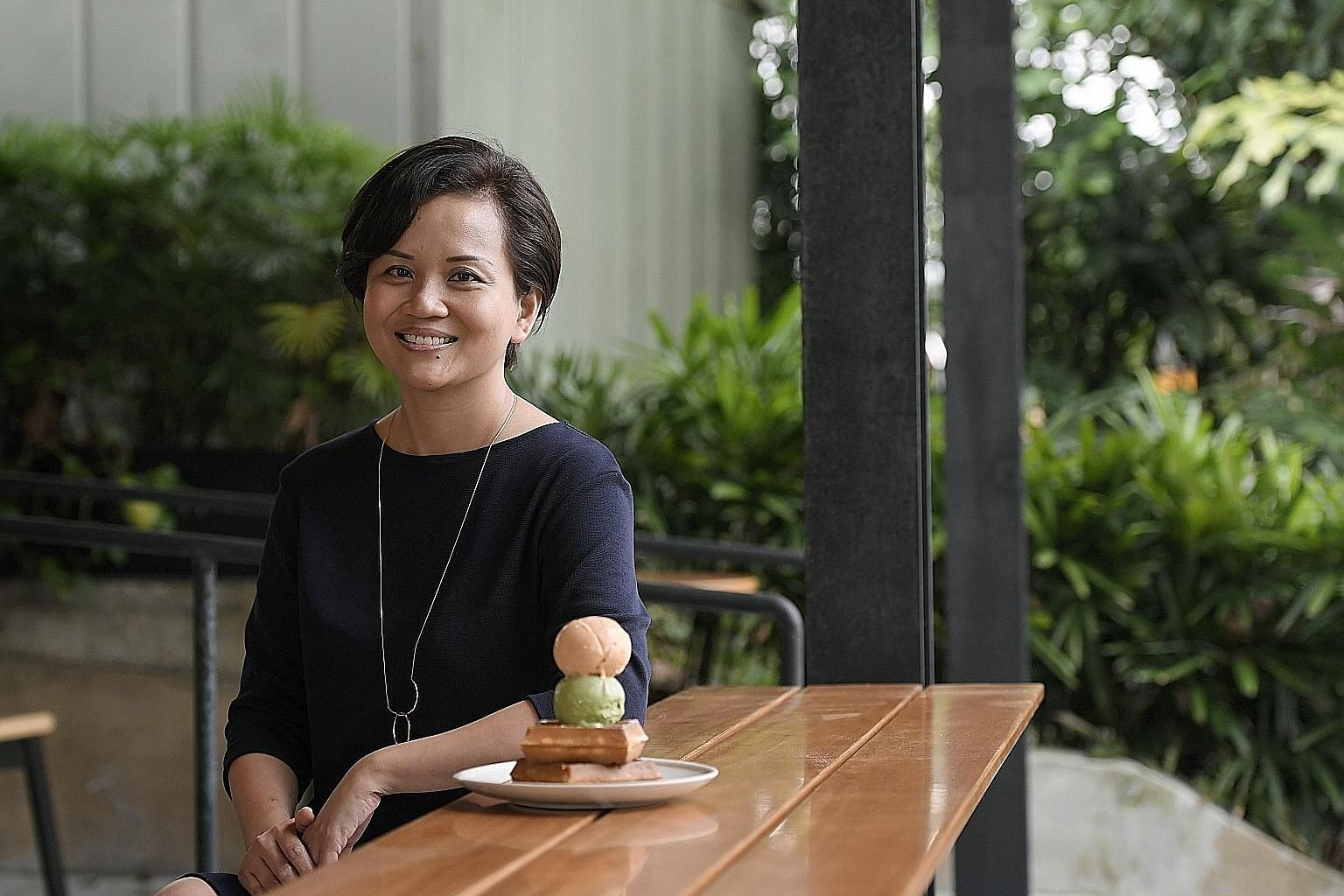 Ms Audrey Wang started baking because she says her mother, a non-baker, could not critique her skills.