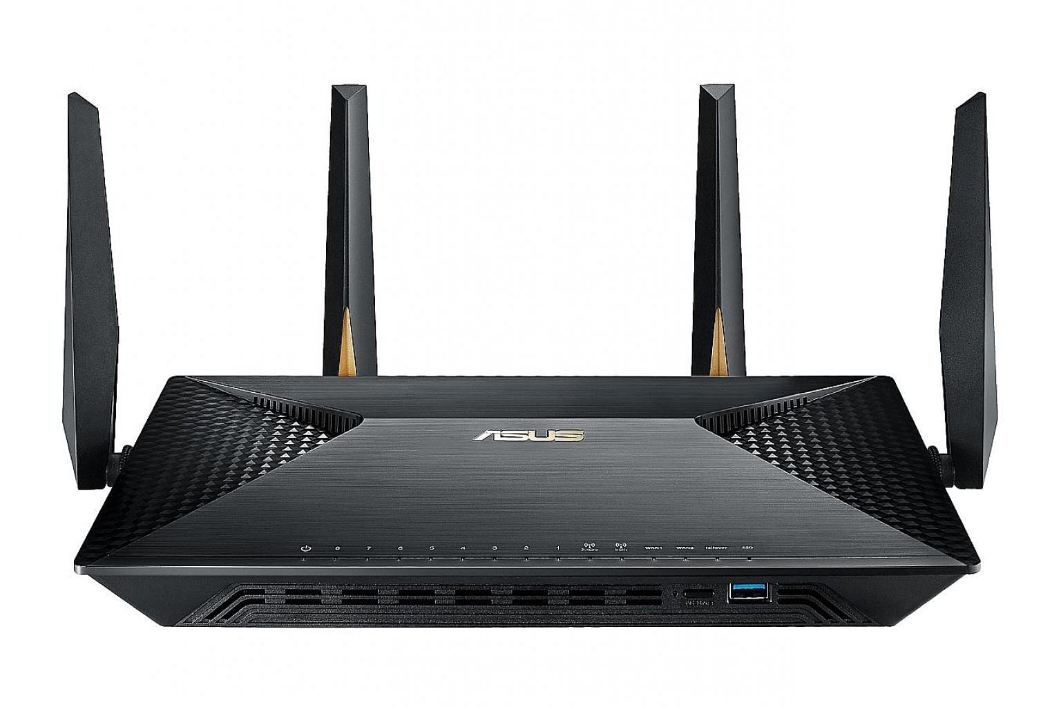 With the Asus BRT-AC828, users can remotely access the business' internal network in a secure manner because the router supports IPsec VPN.