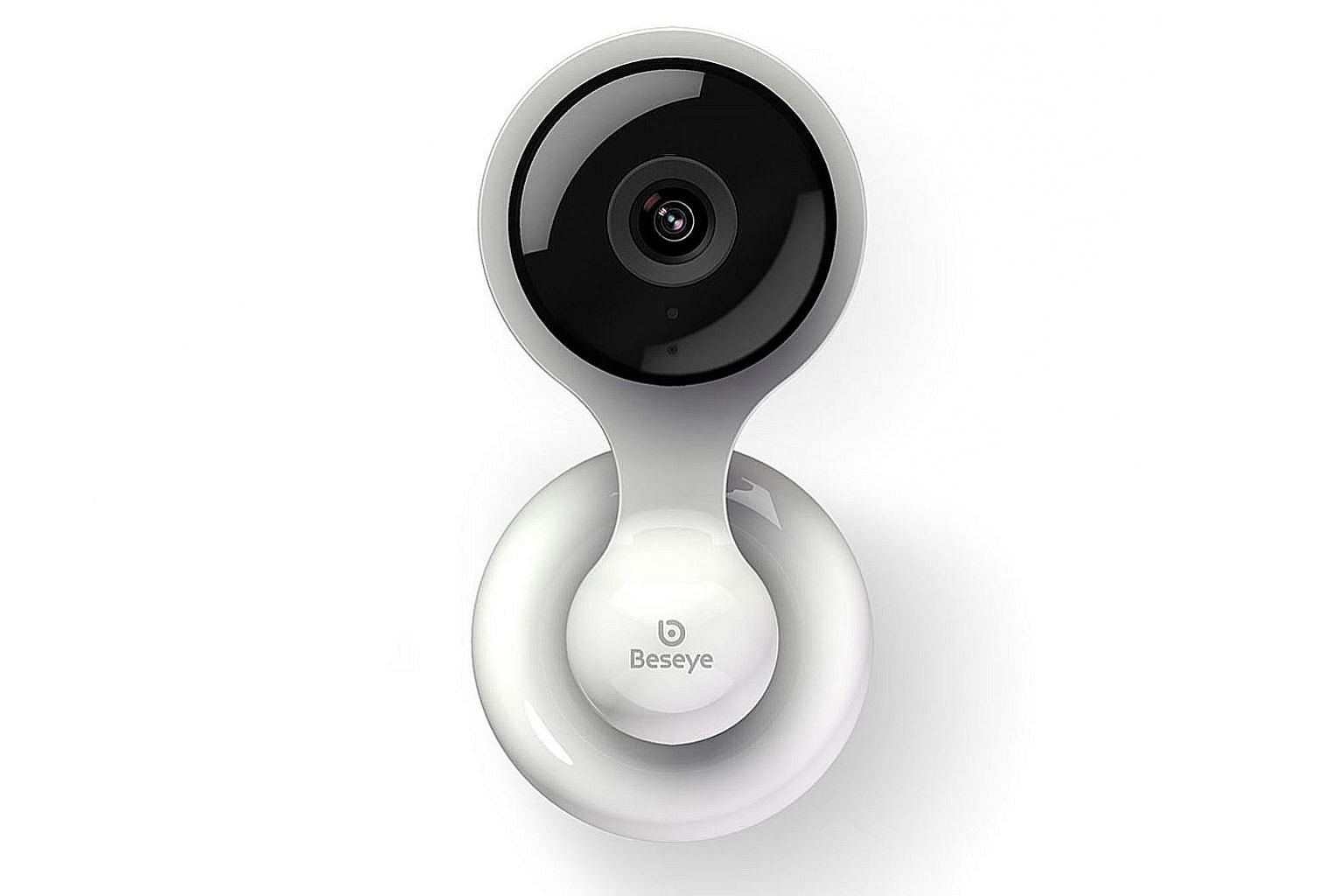Like some home-security cameras, the Beseye Pro Wi-Fi Monitoring Camera can distinguish between people and moving objects.