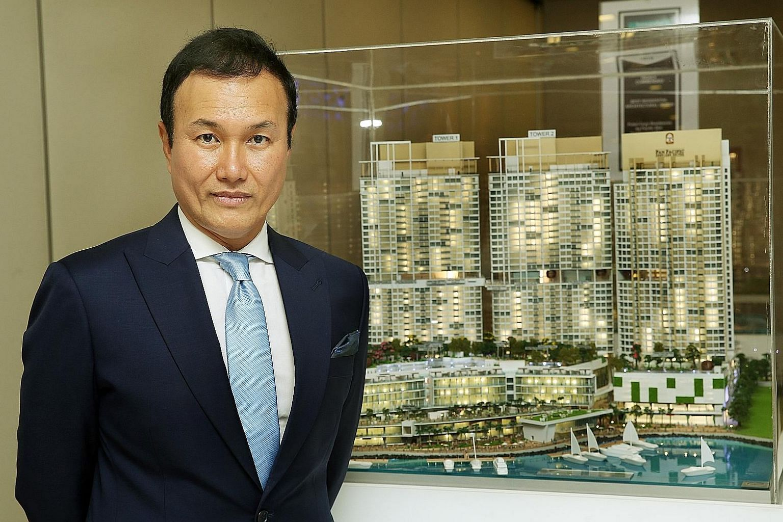 Pacific Star Development chief executive Glen Chan says most of their upcoming projects will be joint ventures, to ensure the firm is not overstretched.