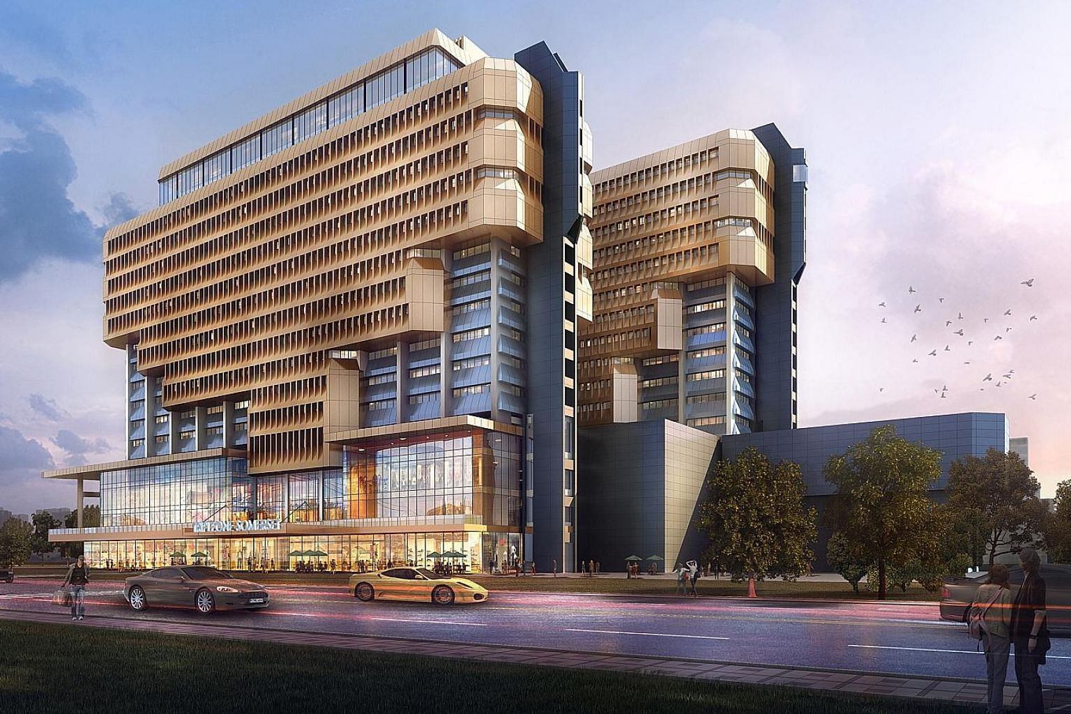 TripleOne Somerset is a prime integrated development with two office towers and a retail podium next to Somerset MRT station. The rare offering of an entire seventh floor of 15 units at the Somerset Tower building in the premium Orchard Road area is