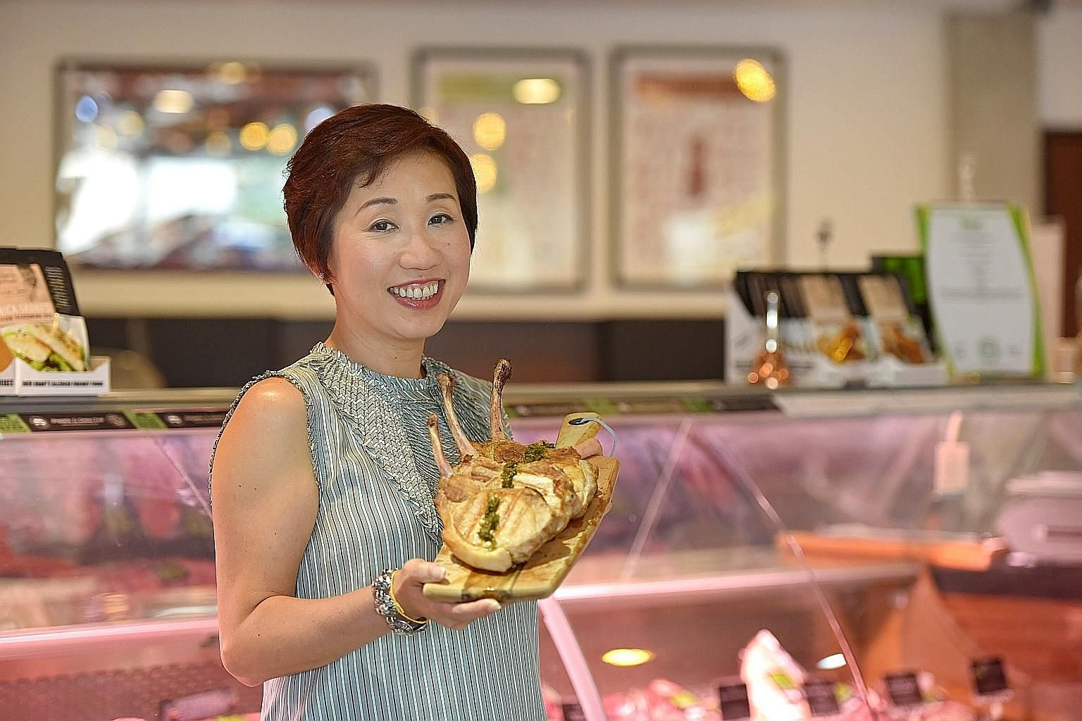 For Ms Wendy Foo, co-founder of Ryan's Grocery, food is one way of showing love for her family.