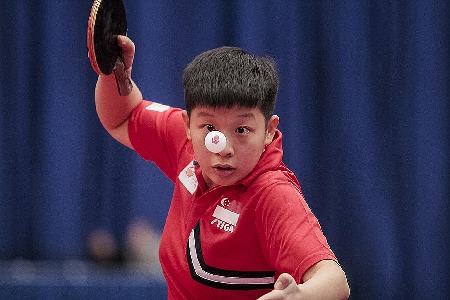 China-born Zeng Jian won three Under-21 titles last year and is currently 25th in the world rankings.