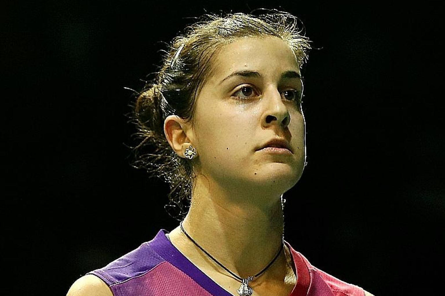 Among the stars coming for the OUE Singapore Open next month is reigning Olympic women's singles champion and world No. 4 Carolina Marin of Spain.