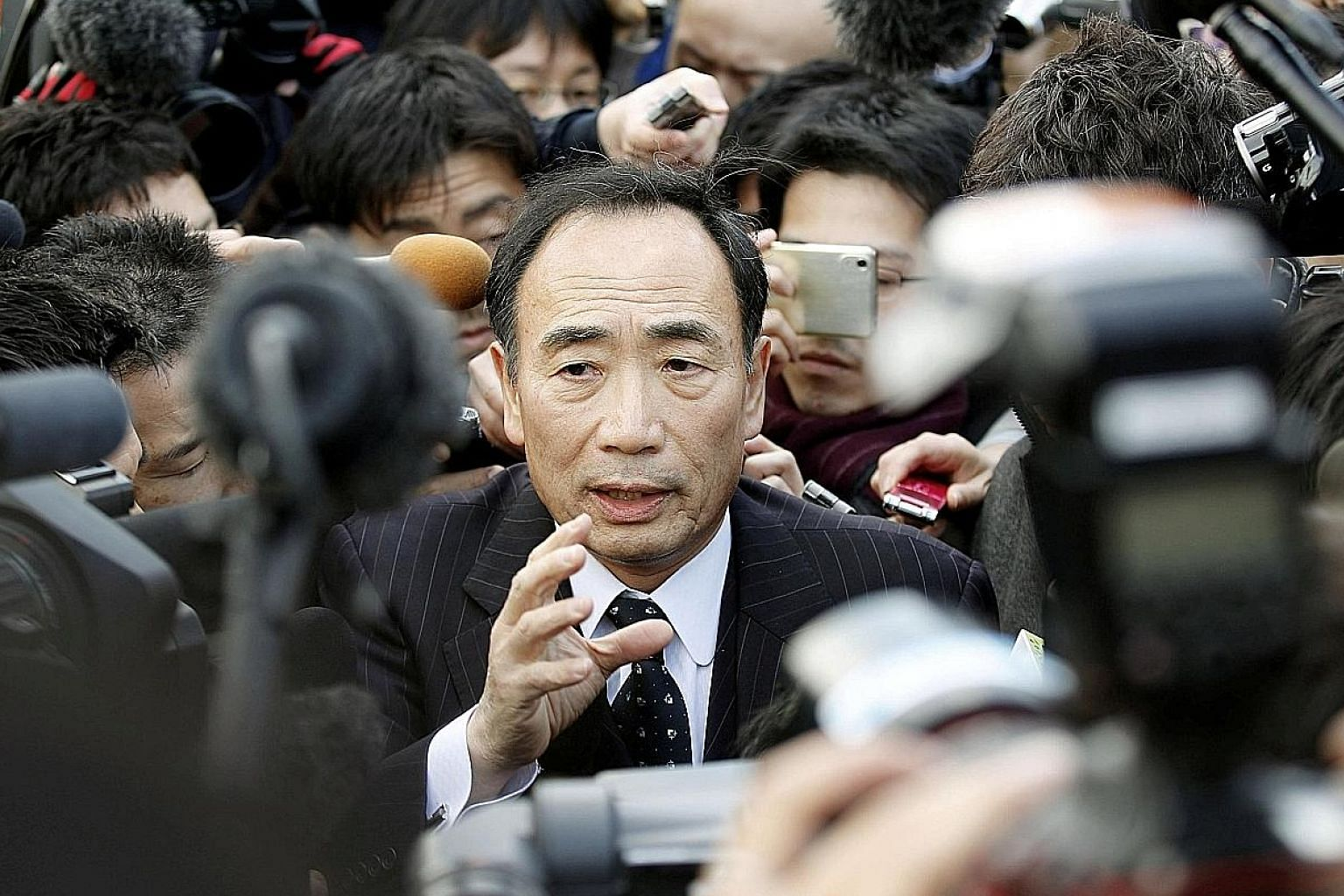 Mr Kagoike has resigned over his failure to open Moritomo Gakuen's Osaka elementary school, whose permit to launch was revoked over fraudulent contracts.