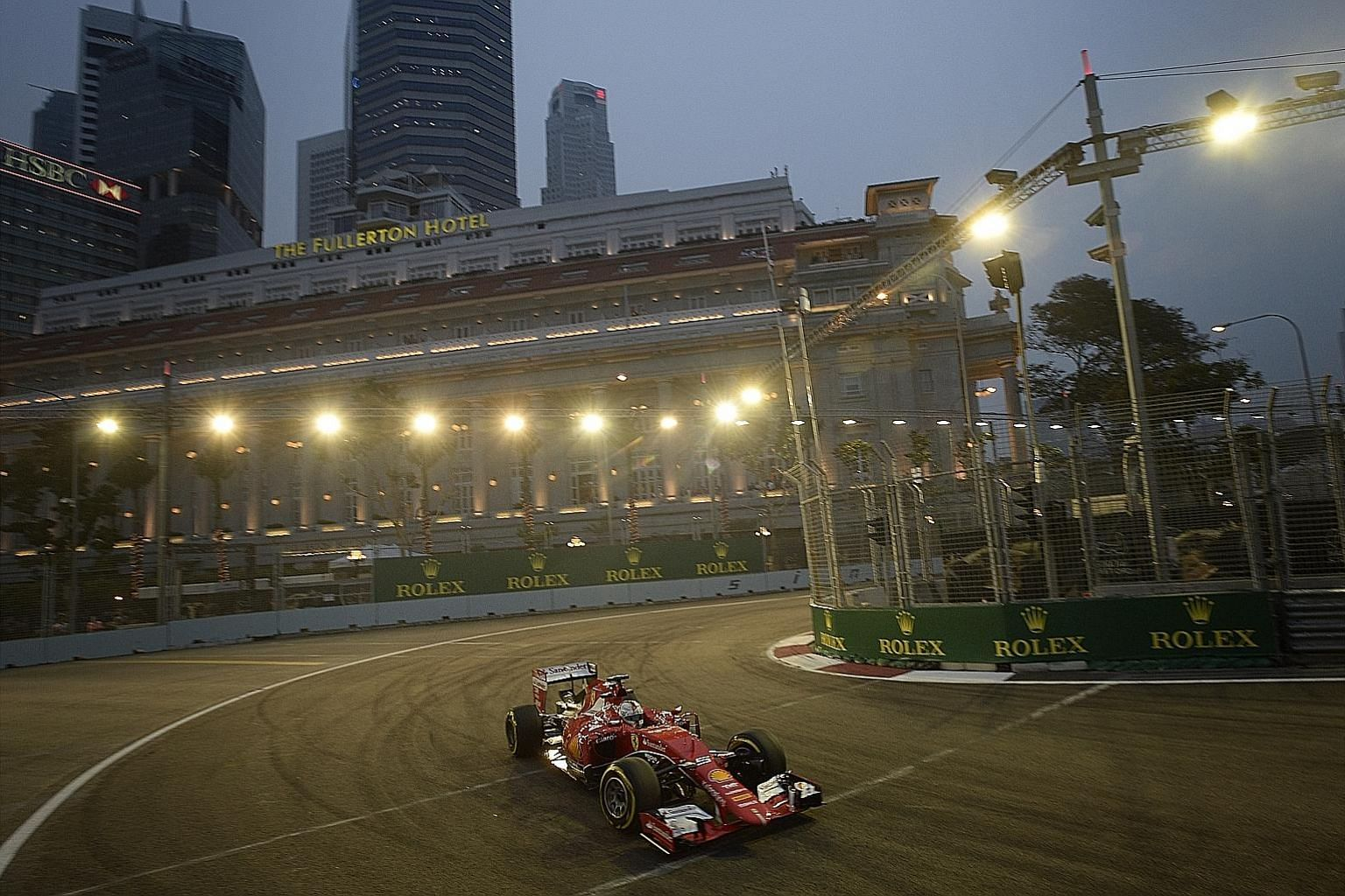 Cyclect Group, which has been the main electrical contractor for the Singapore Grand Prix since the first Formula One race in 2008, has six weeks to make its representations to the Competition Commission of Singapore before a final decision is made.