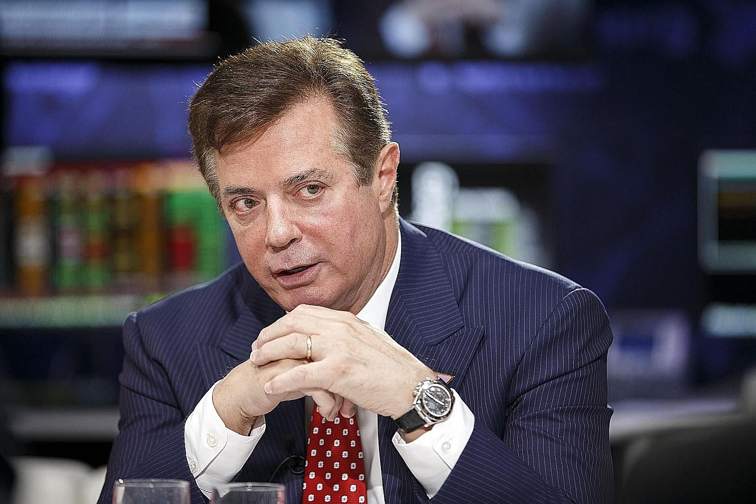 Mr Manafort helped Mr Trump secure the Republican nomination.