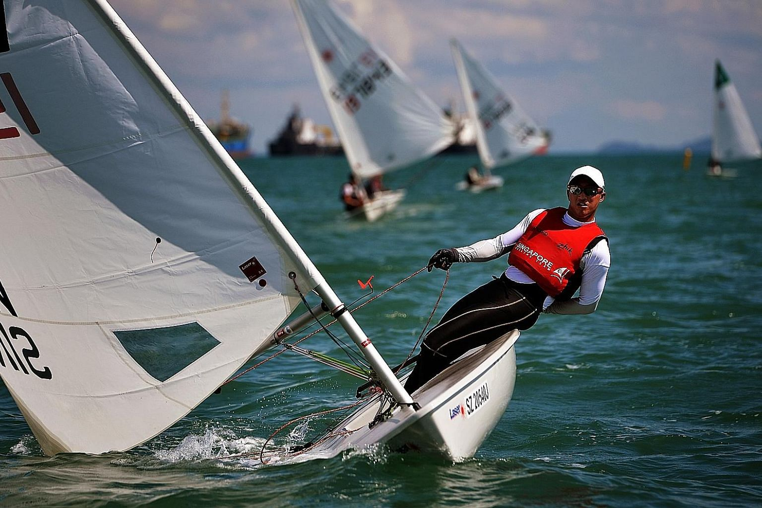 SingaporeSailing's Sailor of the Year Colin Cheng finished 20th out of 46 Laser Standard competitors at last year's Rio de Janeiro Olympics.