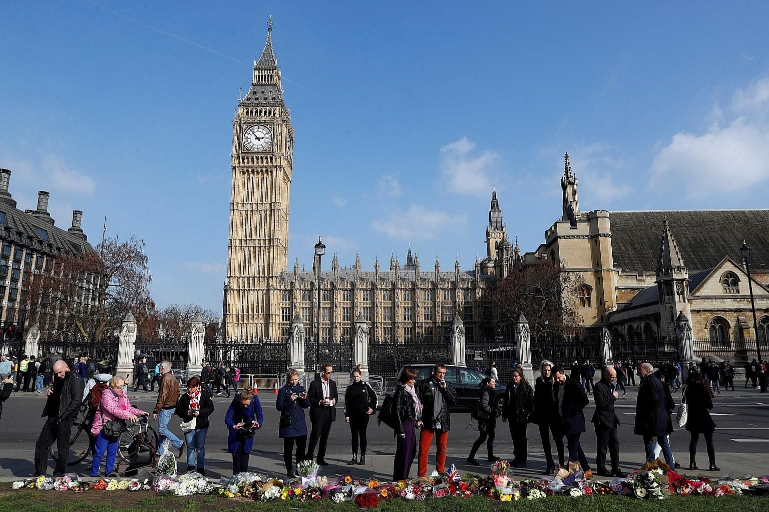Since the attack, people have left tributes in Parliament Square. Masood is the oldest Islamist terrorist to launch an attack in Britain.