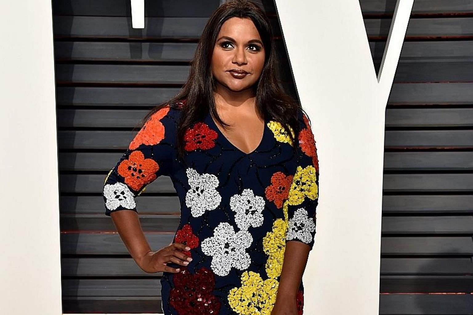 Actress Mindy Kaling (above) and Democratic Senator Cory Booker have between them 10 million Twitter followers.
