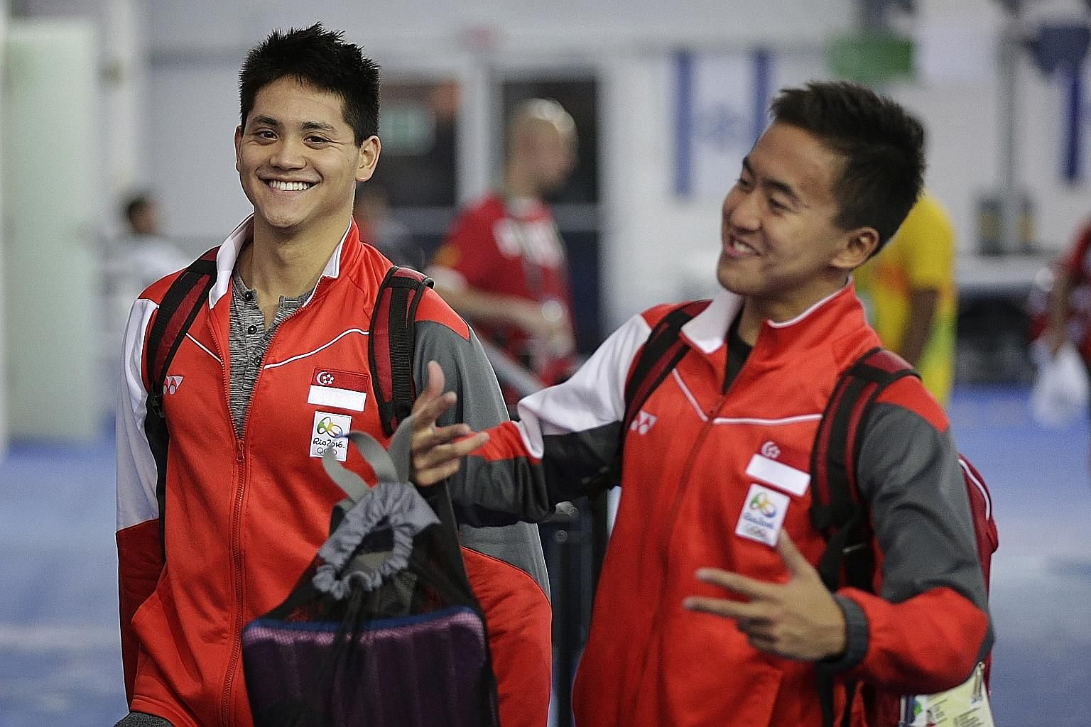 Joseph Schooling knows he has to step up to scale the heights again and Quah Zheng Wen will know he must always build on success.