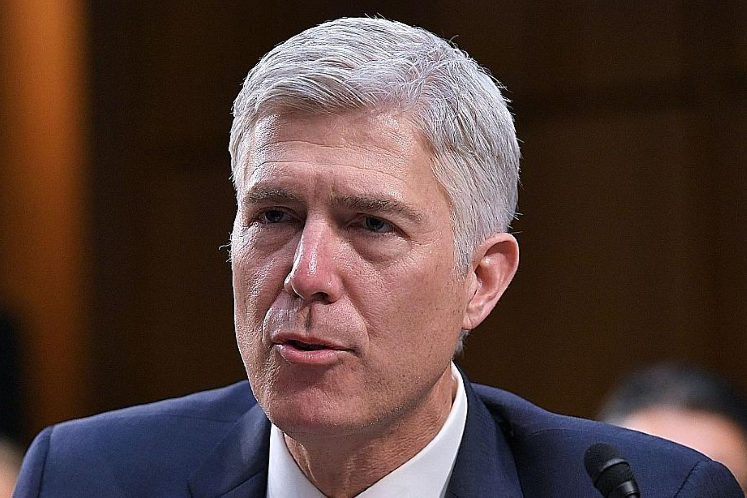 There is a bid to block Judge Neil Gorsuch's confirmation vote via a filibuster.