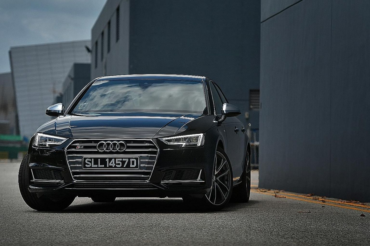 Audi's S4 has been upsized and offers an effortless commute whether it is racing or not.