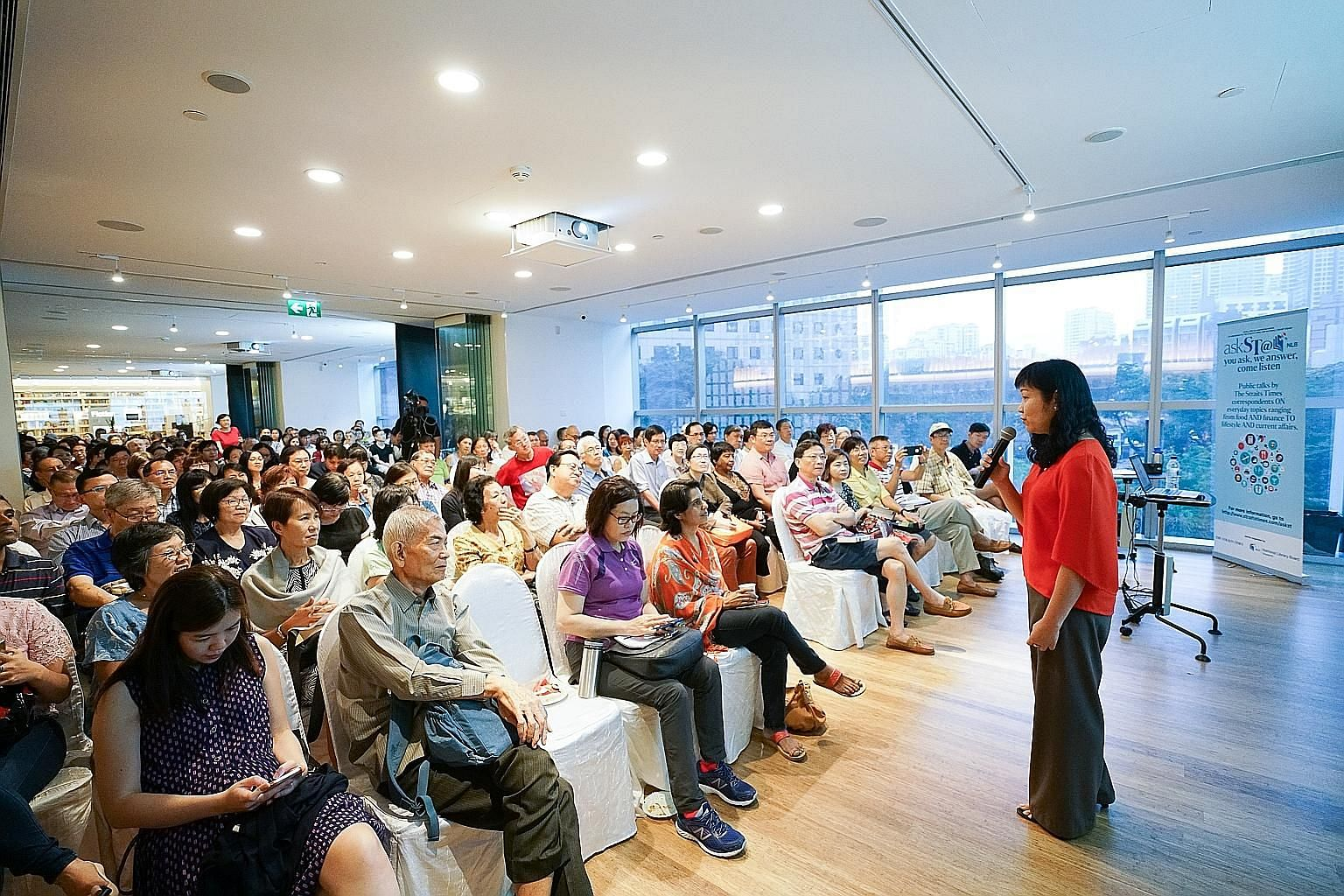 Ms Tan spoke on topics such as CPF interest rates, the Retirement Sum Topping-Up Scheme, CPF withdrawals and CPF Life. Her talk was the 11th in the year-long series sponsored by National Library Board, where readers can learn more about topics rangin