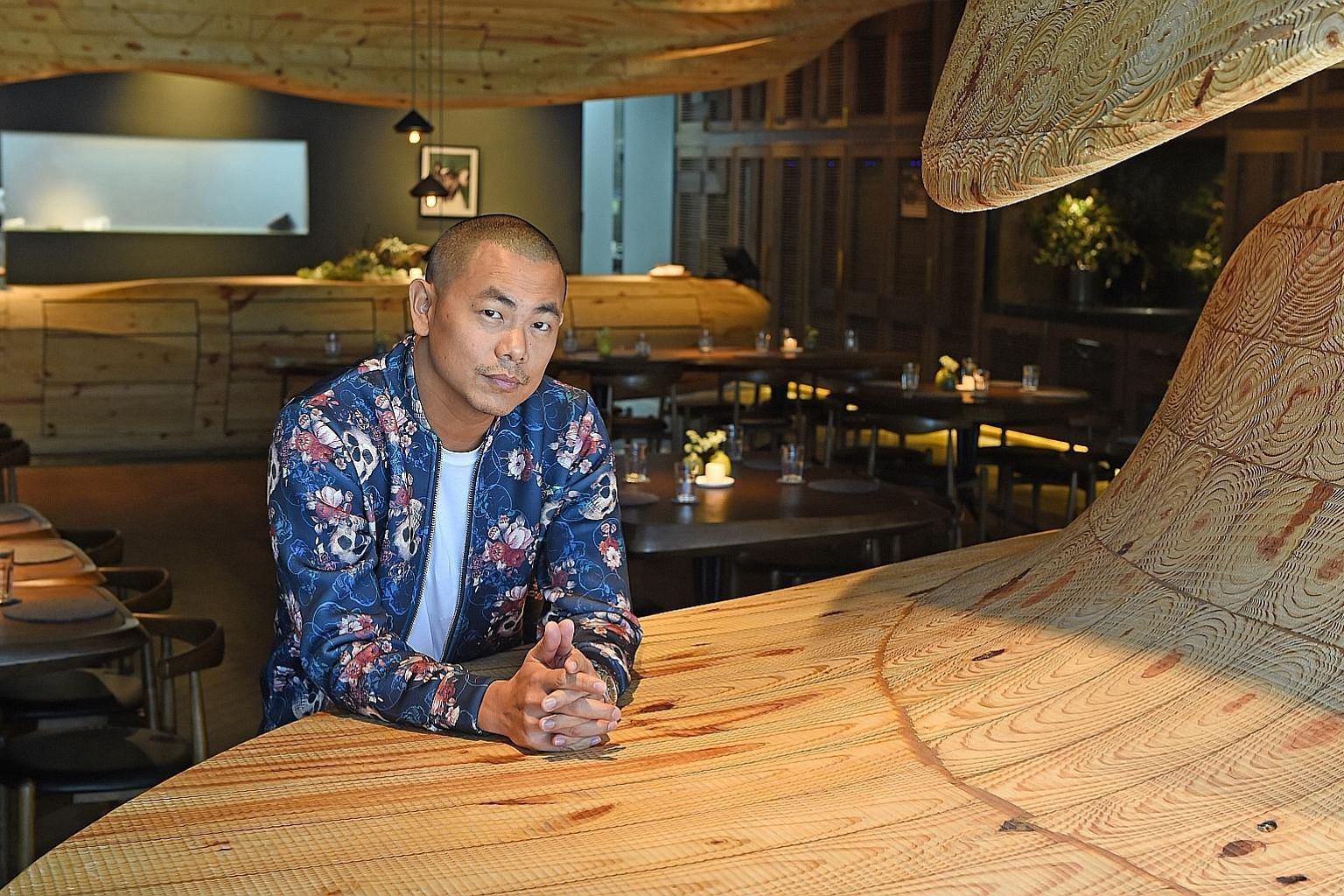 Restaurant Andre is run and owned by Taiwanese-born chef Andre Chiang.