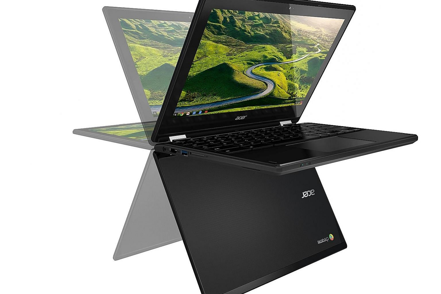 The screen of the Acer Chromebook R11 offers good viewing angles.