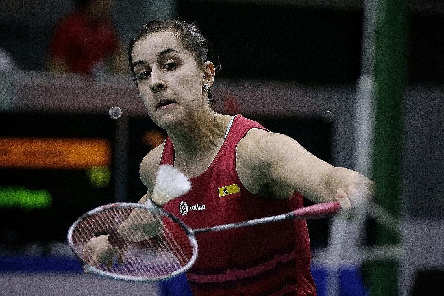 Reigning Olympic champion Carolina Marin will be gunning for her first title since the Rio Games. In the last fortnight she has lost two finals, to Tai Tzu-ying in the Malaysia Open and P.V. Sindhu in the India Open.