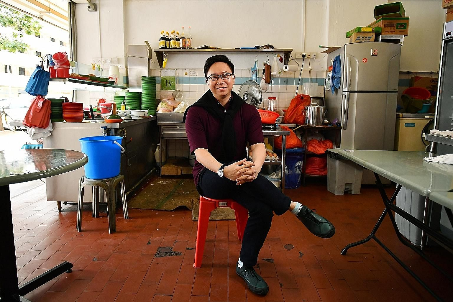 Seng Hong coffee shop in Bukit Merah, now known as Hollywood Bistro, is a pit stop for conductor Wong Kah Chun. His arts project with children, Project Infinitude, is based at the nearby Enabling Village.