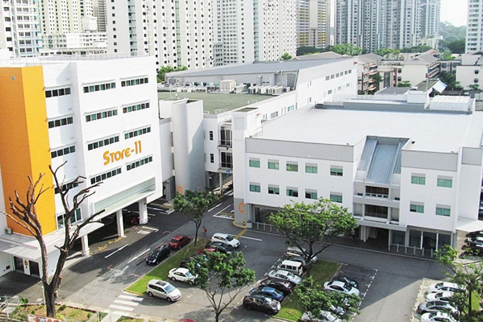 Jackson Square in Toa Payoh, owned by Viva, has seen multiple oil services firms move out of its premises.
