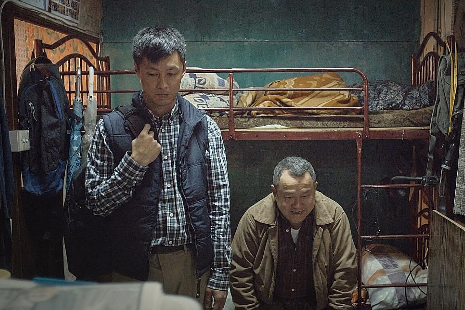 Mad World, starring Shawn Yue (above left) and Eric Tsang, is the debut feature by director Wong Chun.