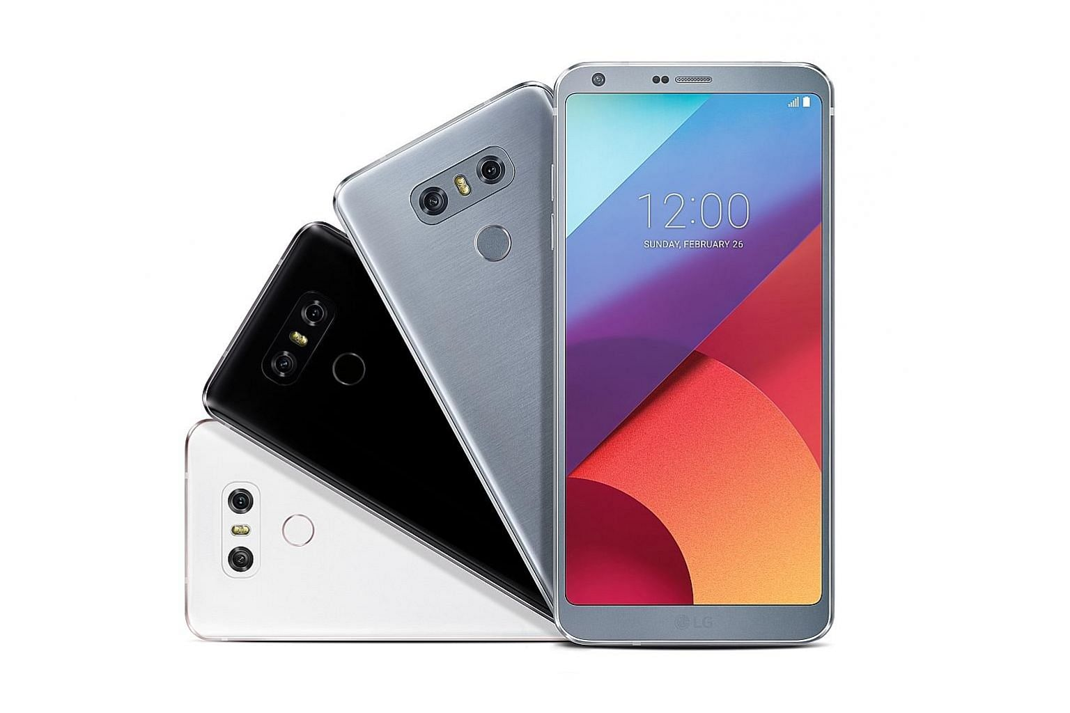 LG continues its dual-camera trend on the G6, slapping two 13-megapixel cameras on the new smartphone's rear. One lens is used for a standard viewing angle and the other is for a 125-degree wide-angle view