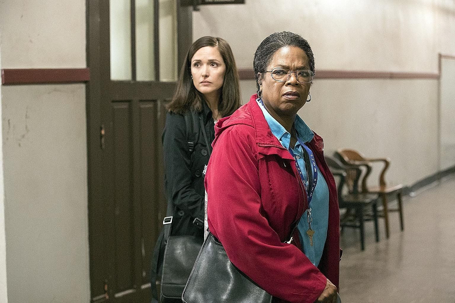 Oprah Winfrey (above right) and Rose Byrne in The Immortal Life Of Henrietta Lacks, about the dying African- American woman (left) whose cervical cancer cells were harvested six decades ago without her knowledge or consent.