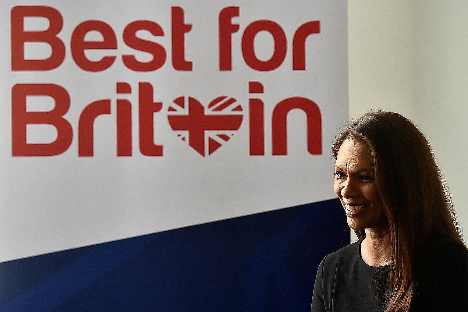 """Pro-EU campaigner Gina Miller yesterday said she would use £300,000 (S$537,000) raised in a campaign to encourage Britons to vote tactically for candidates in the upcoming general election who oppose a """"hard Brexit""""."""